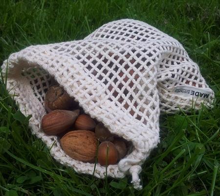 Re-sack net small bio katoen