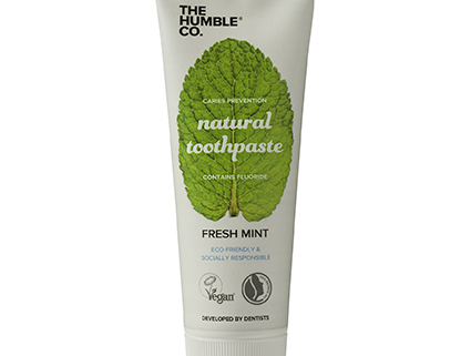 Tube natural tandpasta Fresh Mint van The Humble Company