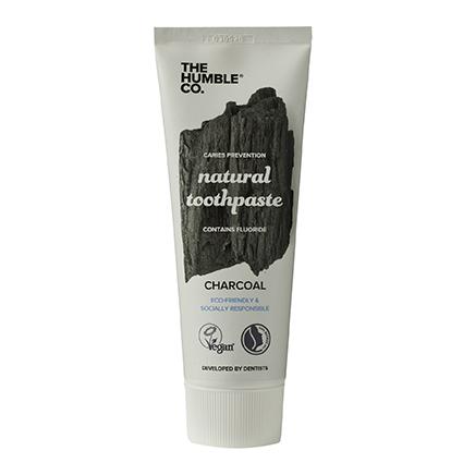 Tube natural tandpasta Charcoal van The Humble Company